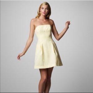 Lilly Pulitzer Strapless Blossom Dress Seersucker